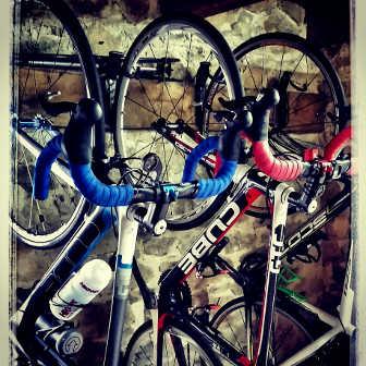 BikeStorageatCorrezeCyclingHolidays