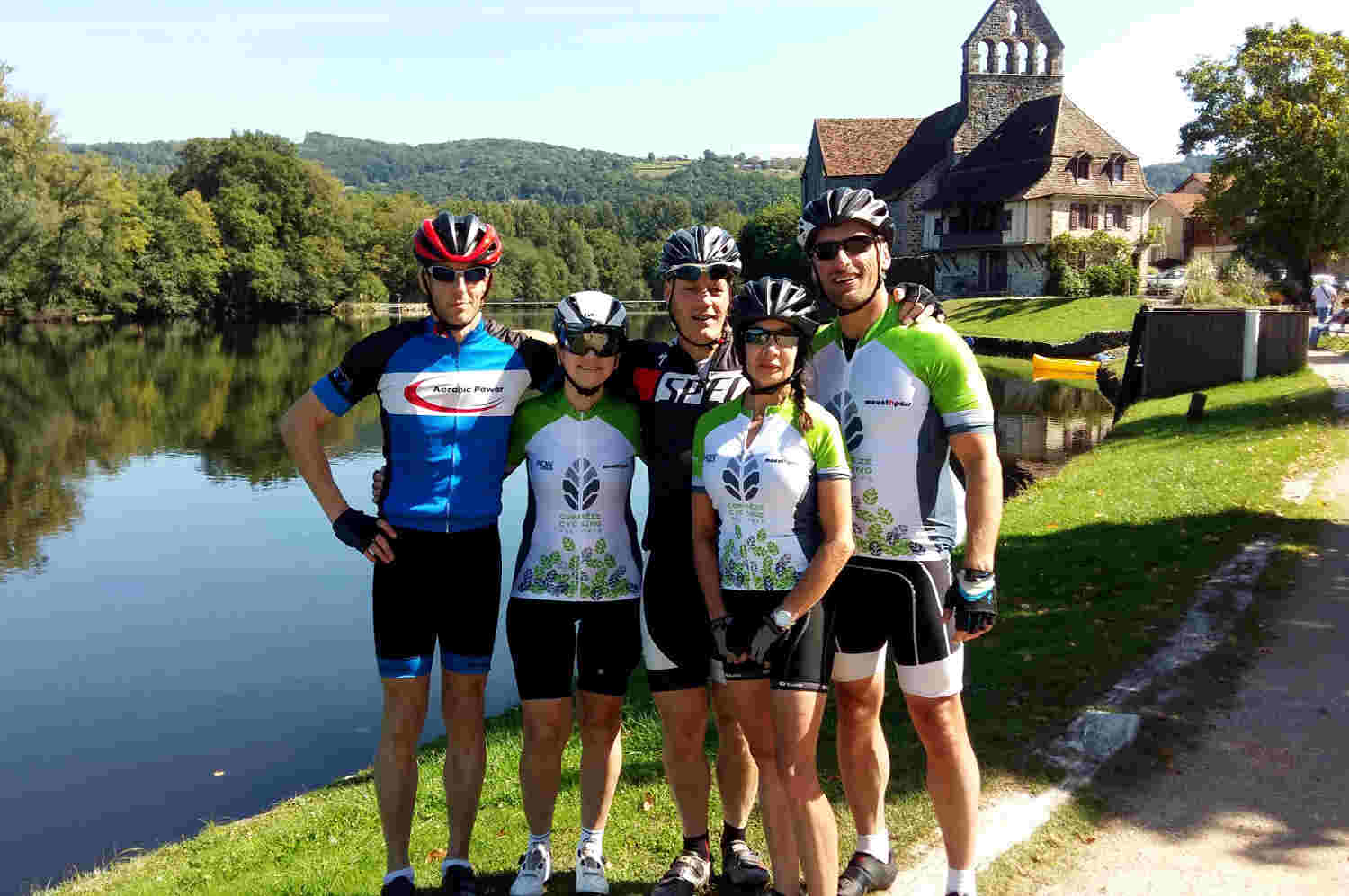 Cycling Holiday in France and Cycling Tour with Correze Cycling Holidays