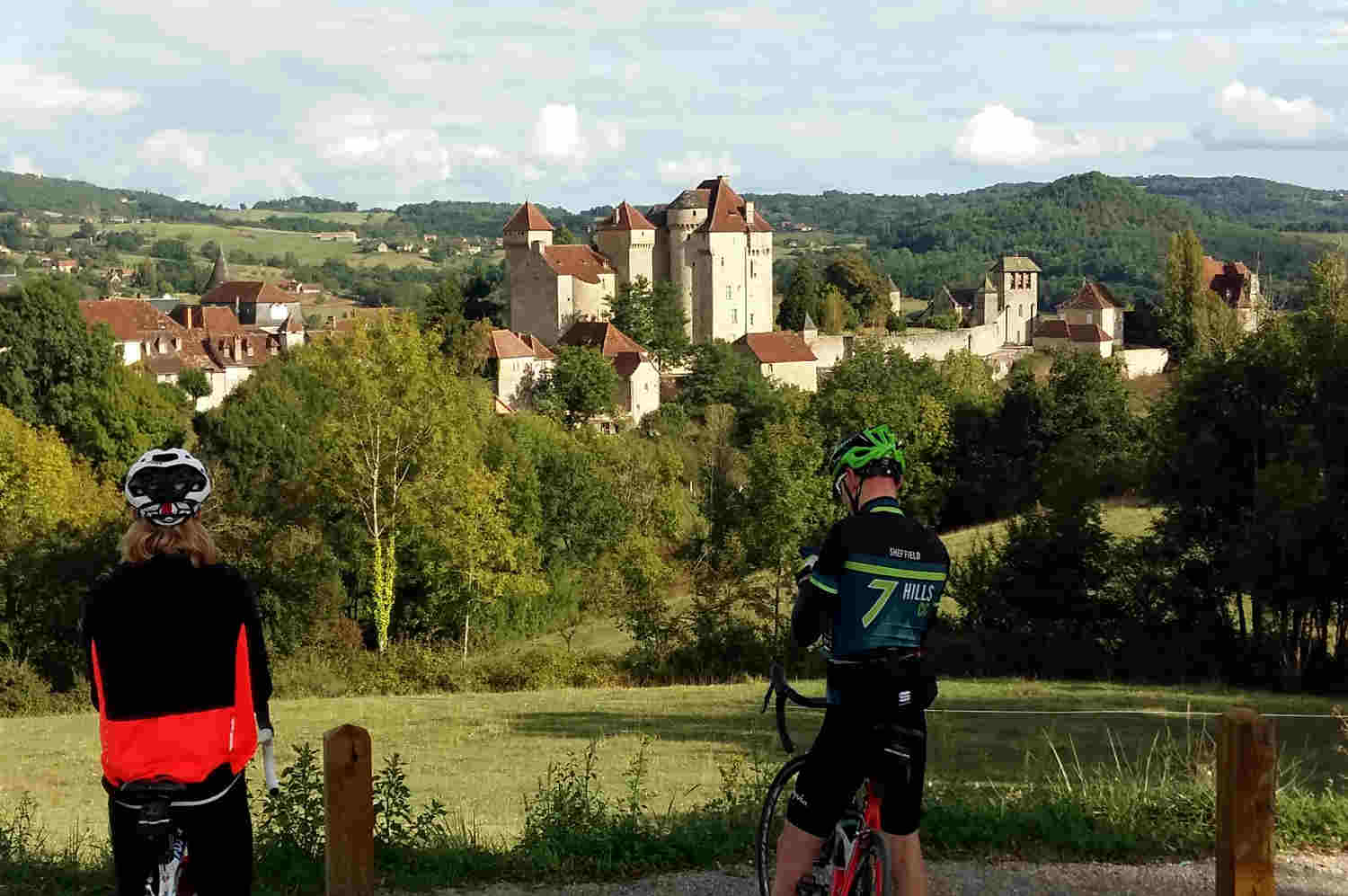 Curemonte Correze . Cycling Holidays in France