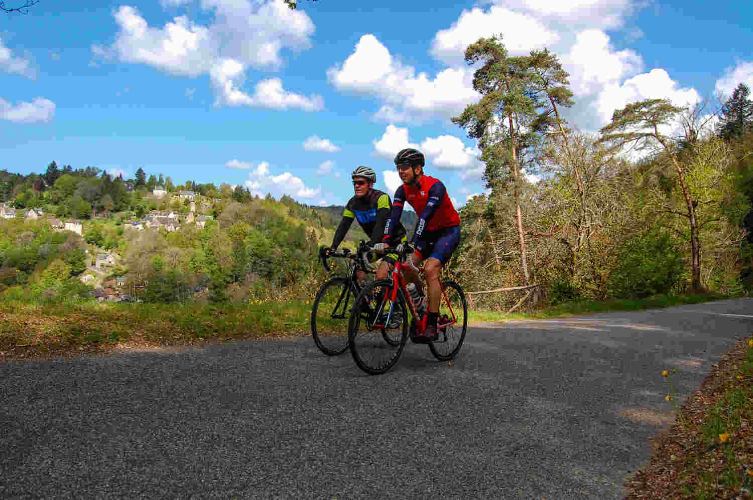 Cycling Tour France - Doustre valley with Correze Cycling Holidays France