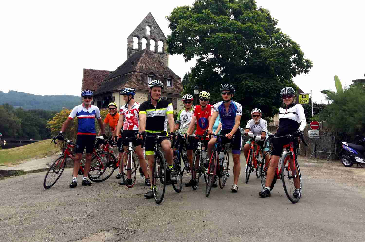 French Cycling Holidays in Massif Central with Correze Cycling Holidays France