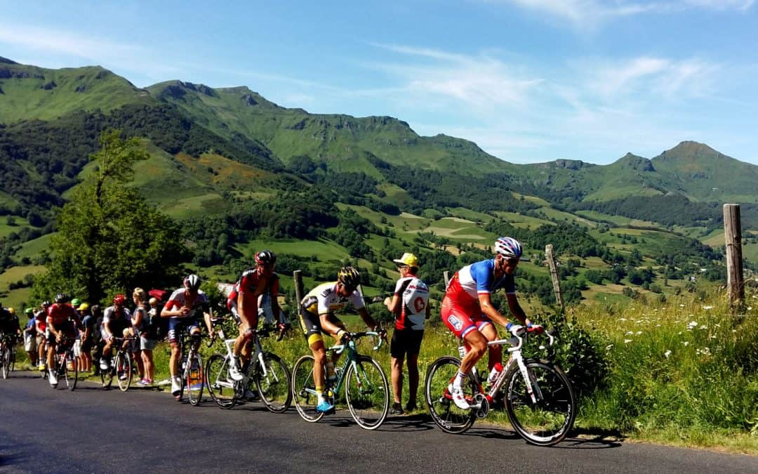 The Mountains of the Massif Central. Try something different for your Cycling Holidays in France
